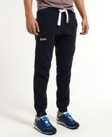 Superdry True Grit Slim Fit Casual Tracksuit Bottoms