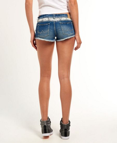 Superdry Contrast Lace Hot Shorts