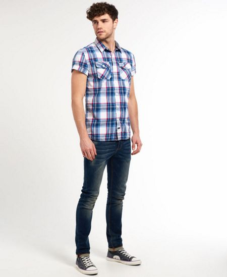 Superdry Washbasket Print Classic Fit Short Sleeve Shirt