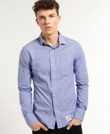 Laundered Pattern Classic Fit Shirt