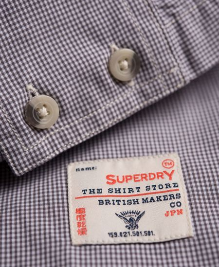 Superdry Laundered Pattern Classic Fit Shirt