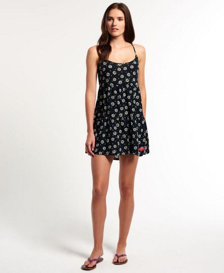 Superdry Vintage Fete Print Cami Dress