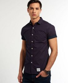 Laundered Plain Classic Fit Short Sleeve Cutaway