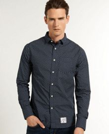 Laundered Pattern Shirt