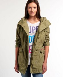 Superdry Rookie Shawl Parka