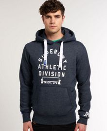 Trackster Print Crew Neck Hoodie