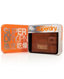 Superdry Tab wallet in a tin