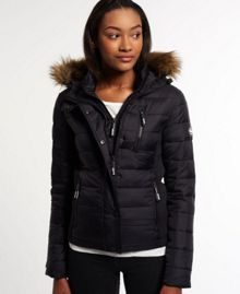 Superdry Fuji Slim Double Zip Hood Jacket