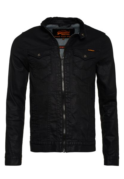 Superdry Biker Black Jacket