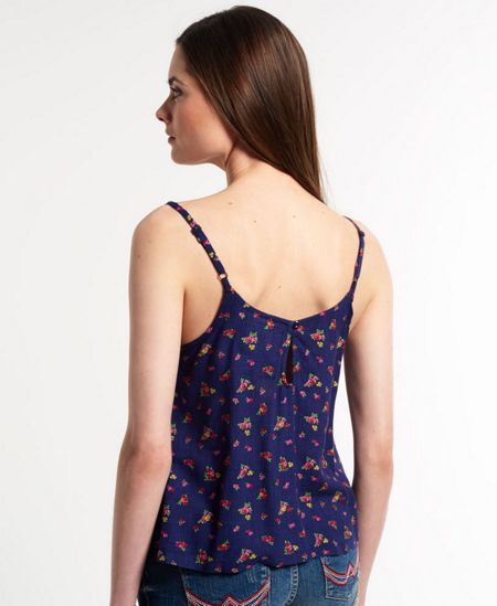 Superdry Printed Mesh Camisole