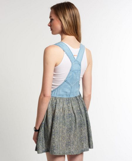 Superdry Vintage Dungaree Dress