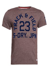 Superdry Trackster Classic Flocked T-shirt