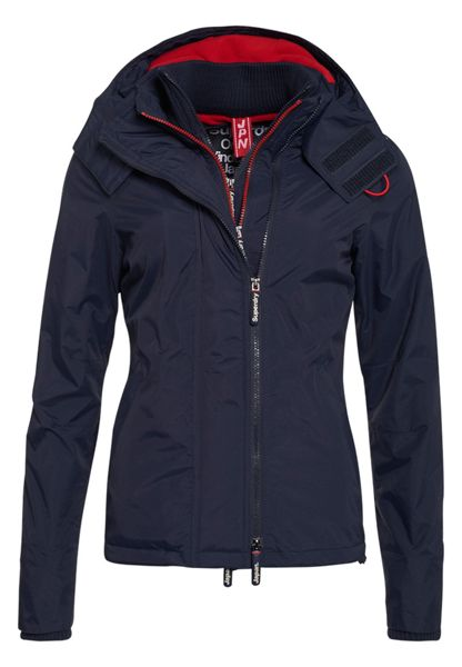 Superdry Pop Zip Hooded Arctic Windcheater