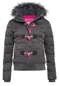 Marl Toggle Puffer Jacket