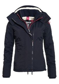 Superdry Hooded Sherpa Quilted Windcheater