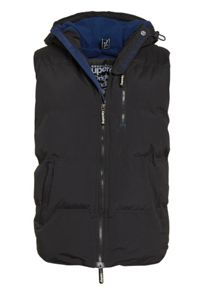 Hooded windhiker gilet