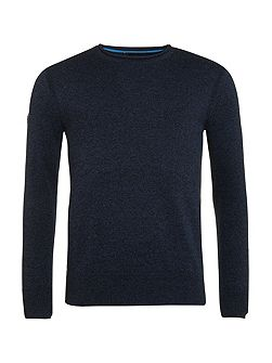 High Neck Crew Jumper