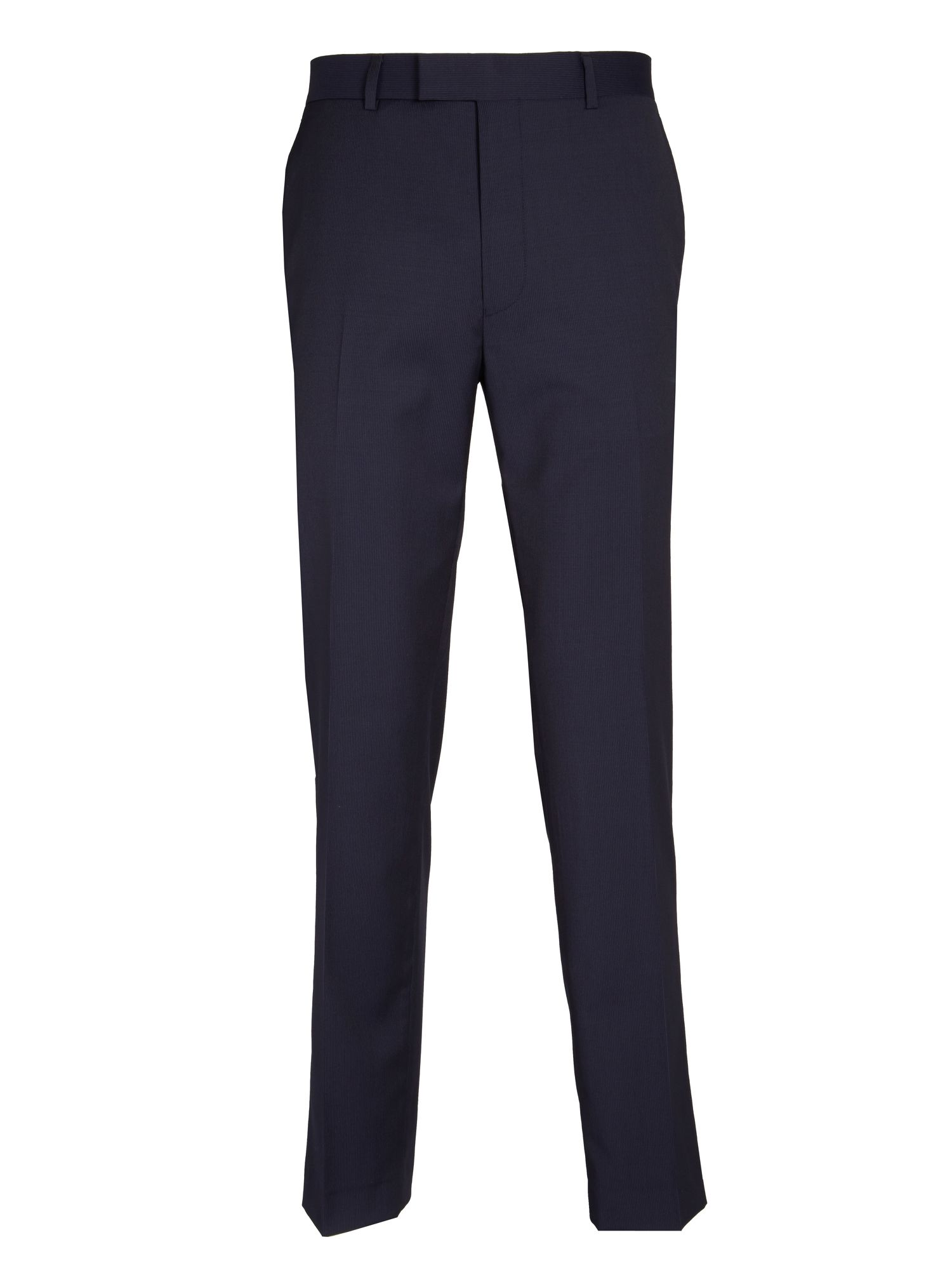 Micro stripe formal trousers