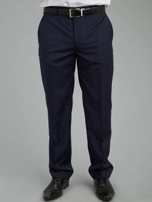 Paul Costelloe Blue Micro Stripe Suit Trousers