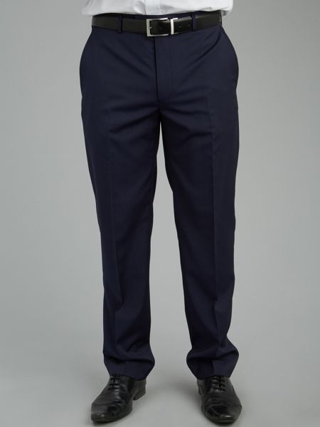 Paul Costelloe Modern Fit Micro Stripe Suit Trousers