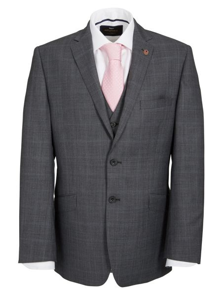 Paul Costelloe Modern Fit Multi Check Suit Jacket