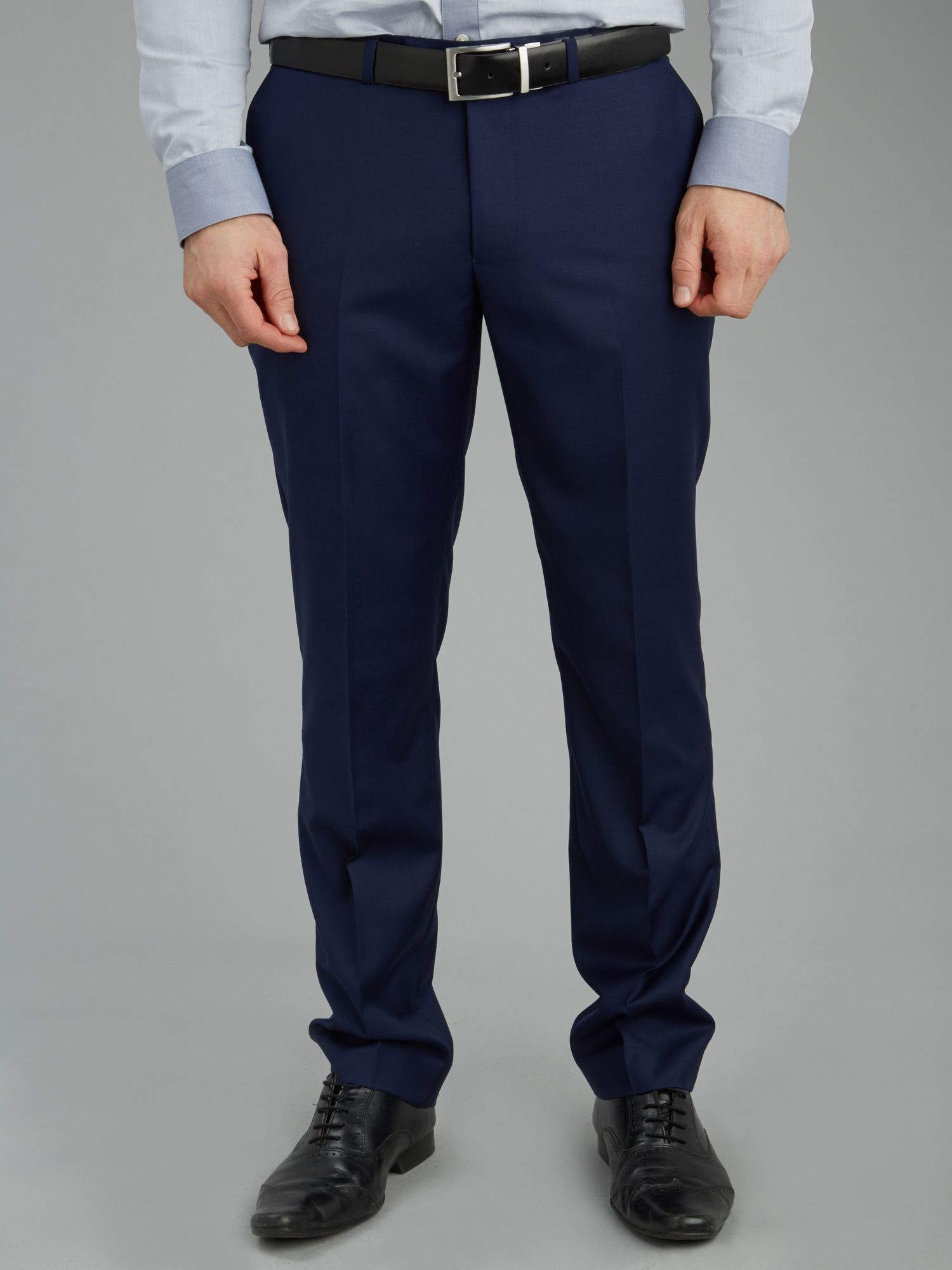 Slim fit formal trouser