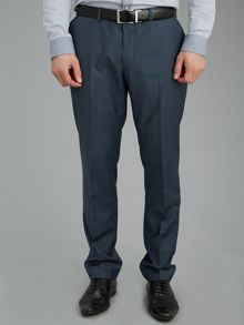 Slim fit formal tonic trousers