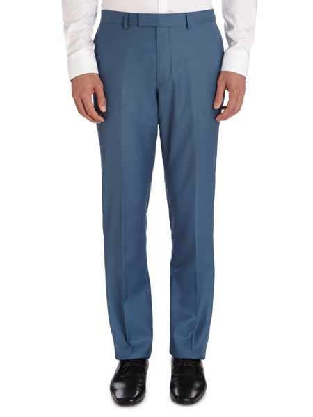 Paul Costelloe Light Blue Tonic Suit Trousers