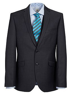Modern Fit New Grey Tonic Suit Jacket