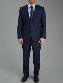 Micro check single breasted suit