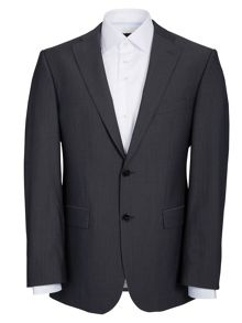 Baumler Grey Self-Stripe Two Piece Suit
