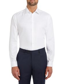 Paul Costelloe Slim fit button cuff long sleeve shirt