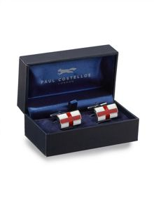 St george`s cross cufflinks