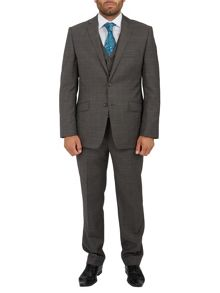 Glen check suit