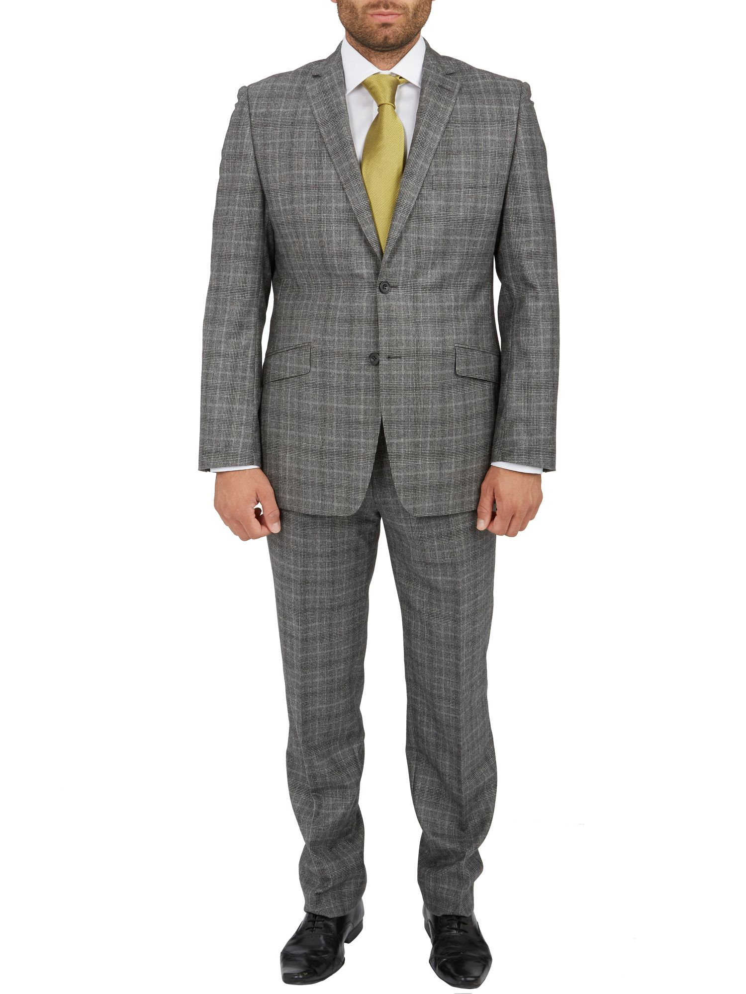 Busy mill glen check suit