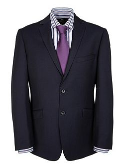 Modern Fit Cavalry Twill Suit Jacket