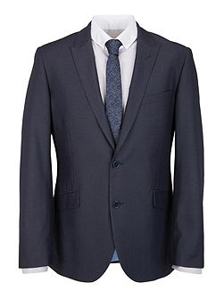 Modern Fit Airforce Blue Suit Jacket