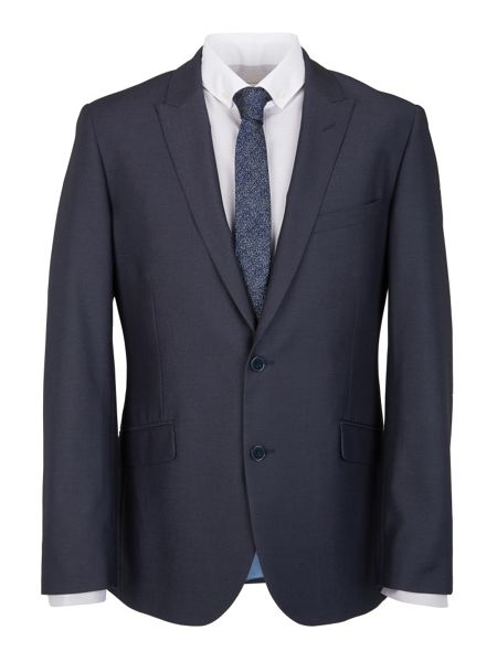 Paul Costelloe Modern Fit Airforce Blue Suit Jacket