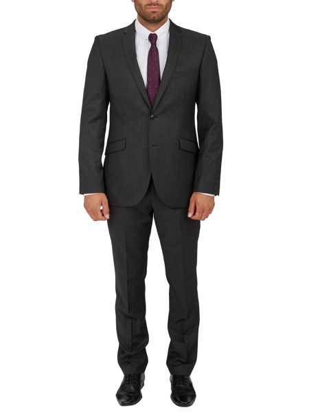 Paul Costelloe Modern Fit Glossy Microdot Suit Jacket