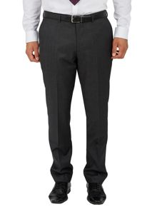 Glossy micro dot slim fit suit trousers