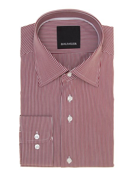 Baumler Fine striped shirt