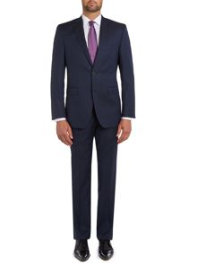 Semi-plain suit