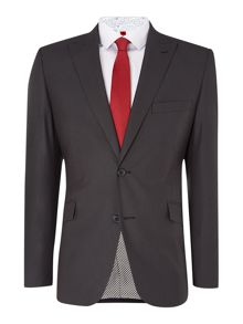 Check Notch Collar Regular Fit Suit