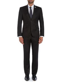 Plain Notch Collar Classic Fit Suit