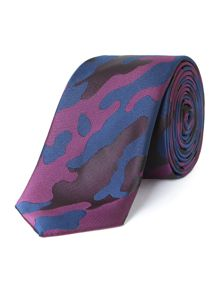 Patterned Camoflage Tie