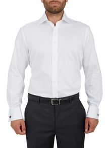 Plain Regular Fit Long Sleeve Formal Shirt