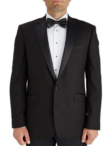 Paul Costelloe Black Serge Dinner Jacket