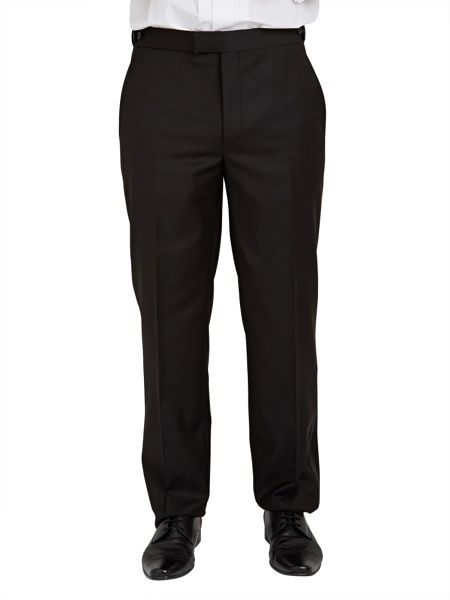 Paul Costelloe Black Serge Dinner Suit Trousers