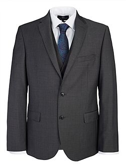 Slim Fit Grey Tonic Suit Jacket
