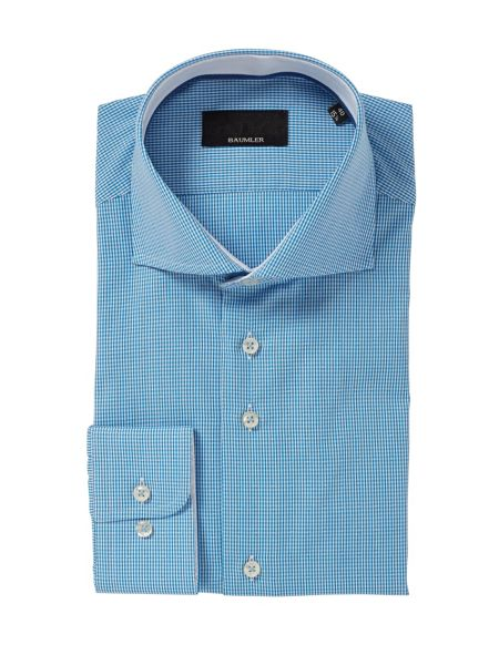Baumler Gingham Classic Fit Long Sleeve Shirt